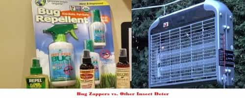 Bug Zappers vs Other Insect Deterring