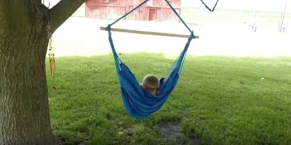 How to Hang Hammock Chair from Garden Tree