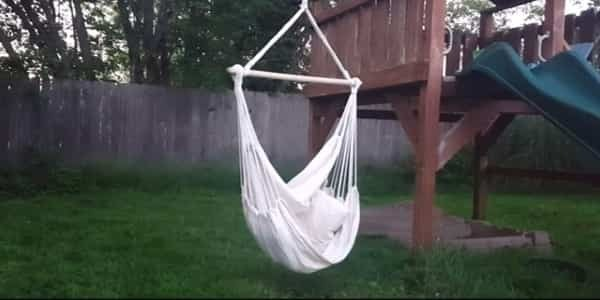 where to hang a hammock chair