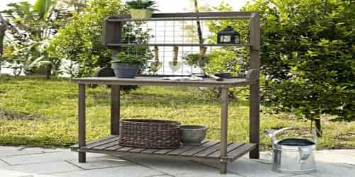 potting Placement of the bench