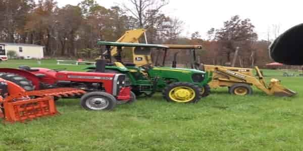 Type of tractor