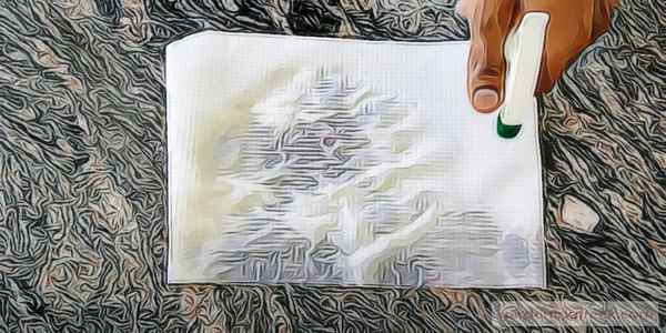 Dampen a Paper Towel with Water
